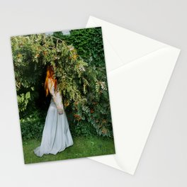 self portrait (marrying myself) Stationery Cards