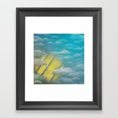 Ode to Summer Nights (Version 2) Framed Art Print