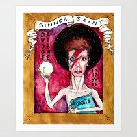 DB- Sinner/Saint Art Print