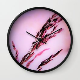 soft and tender gras Wall Clock