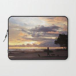 Sunset for a Soul Surfer Laptop Sleeve