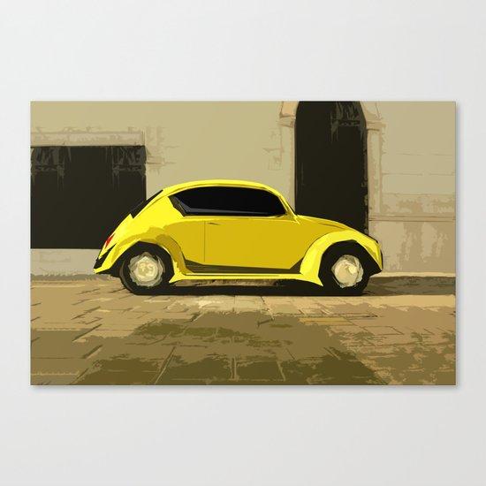 The LOve Bug reVAMP Canvas Print