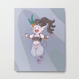 Mythology Opal Metal Print