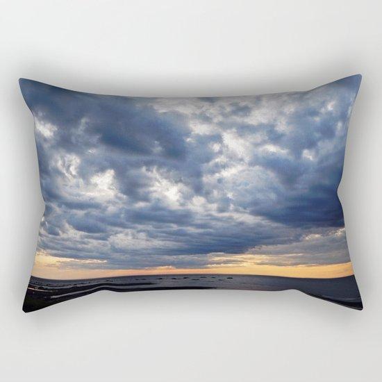 Clouds on the Sea Rectangular Pillow
