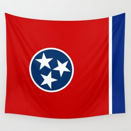 State flag of Tennessee - Authentic version Wall Tapestry