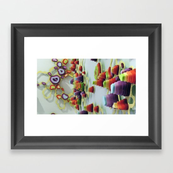 Double Diddle Evisceration Framed Art Print