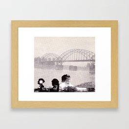 City Minds Framed Art Print