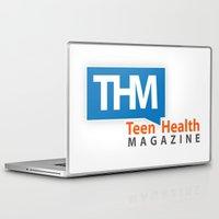 health Laptop & iPad Skins featuring Teen Health Magazine by TeenHealthMagazine