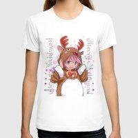 madoka magica T-shirts featuring Xmas Madoka Magica by Neo Crystal Tokyo