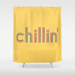 Chillin' Shower Curtain