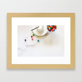 Sweet snack Framed Art Print