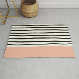 Peach x Stripes Rug