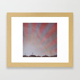 it has been this way Framed Art Print
