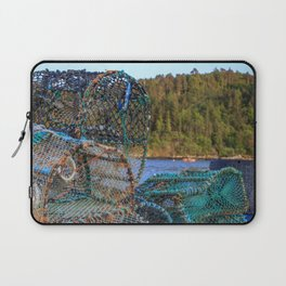 A Fisherman's Tools Laptop Sleeve
