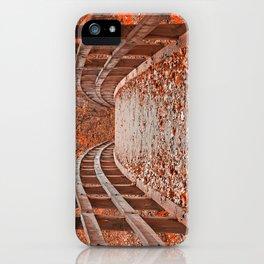 Ruby Red Bridge iPhone Case