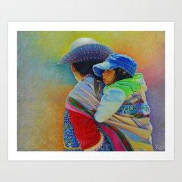 Bajo el sol de Arequipa Art Print