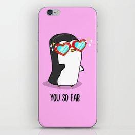 Fabulous Penguin iPhone Skin