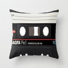 Cassette Inside Throw Pillow