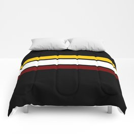 Team  Colors 2...maroon,yellow gold Comforters