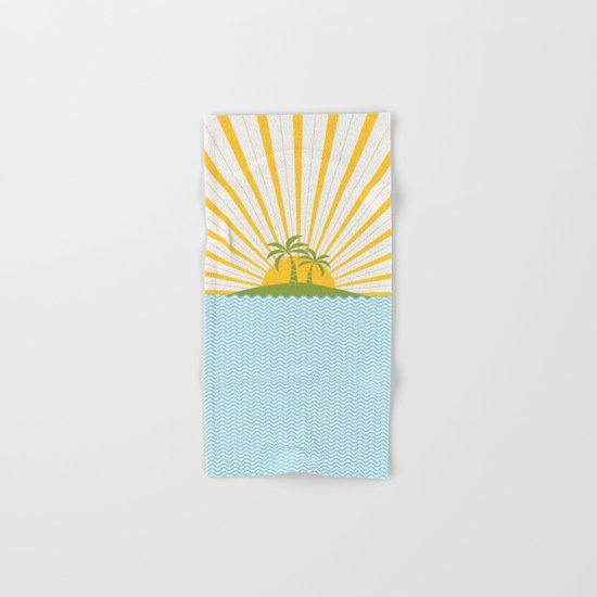 Summer Sun Hand & Bath Towel