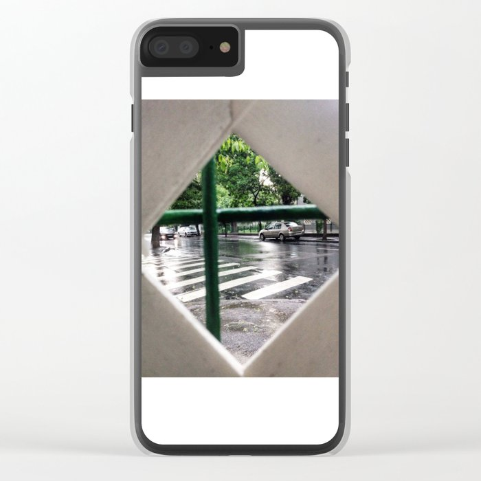 URBAN GREEN Clear iPhone Case