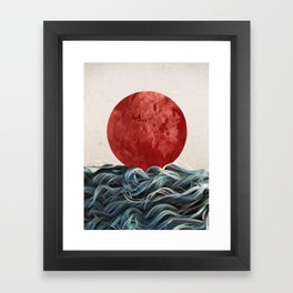 Sunrise in Japan Framed Art Print