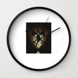 Crowned Skull Wall Clock
