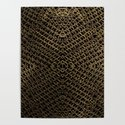 Gold Chain Mail by bloomingvinedesign