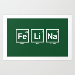 Breaking Bad: Felina Art Print