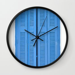 The Blue Window, Milos Wall Clock
