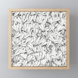 Paper planes Framed Mini Art Print