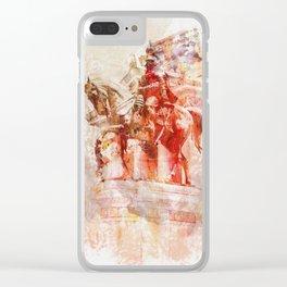 Vittorio Emanuele II Clear iPhone Case