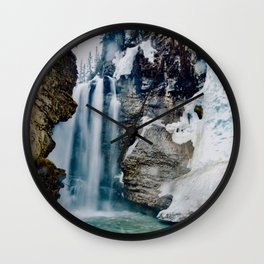 Johnston Canyon Pt.2 Wall Clock