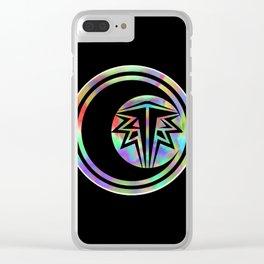 cataclismic design Clear iPhone Case