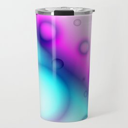 Bubbles Abstract Background G114 Travel Mug