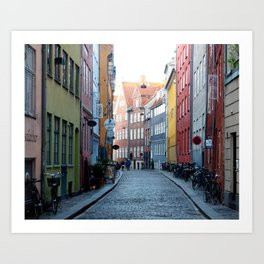 Colors of Copenhagen Art Print