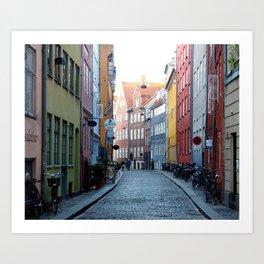 Colors of Copenhagen Art Print