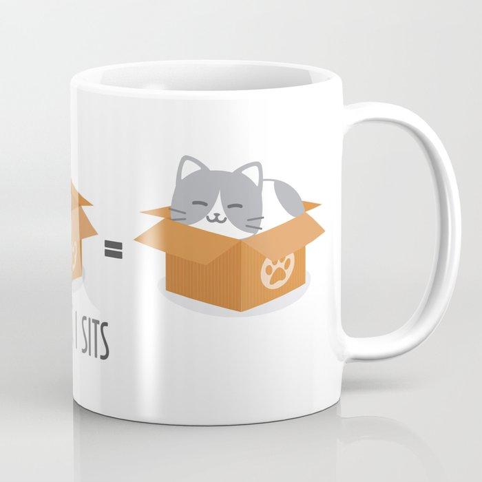 338ff110a64350 If It Fits, I Sits! Coffee Mug by furbulouspaw | Society6