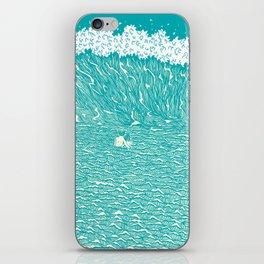Sea of love iPhone Skin