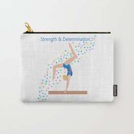 Gymnastics - Ultimate Balancing Act (on Balance Beam) Carry-All Pouch