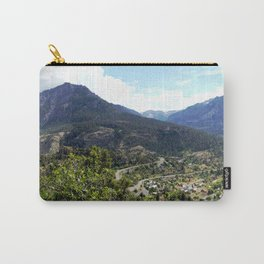 Ouray - At the Mouth of the Uncompahgre Gorge Carry-All Pouch