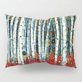 :: Begonia Birch :: Pillow Sham
