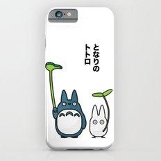 Chu & Chibi Totoro Pop art - White Version iPhone 6s Slim Case