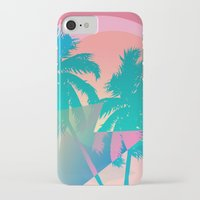 miami iPhone & iPod Cases featuring MIAMI by DIVIDUS