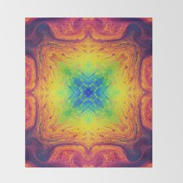 Psychedelic Two Throw Blanket
