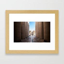 Mussolini Museum Framed Art Print