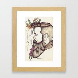 You Can Framed Art Print