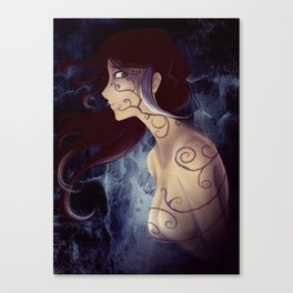 Tentacles of Darkness Canvas Print