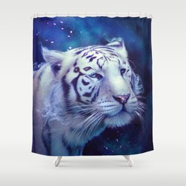 Where the sky ends Shower Curtain