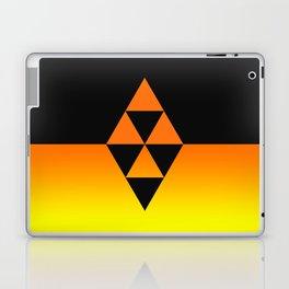 Legend Of Zelda Triforce Laptop & iPad Skin
